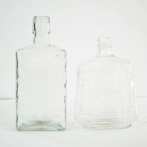 晶白玻璃喷涂瓶