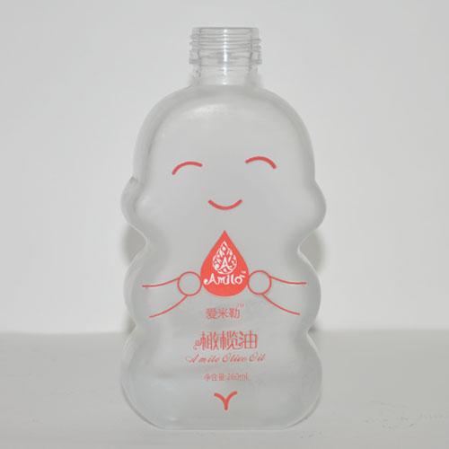 蒙砂玻璃瓶